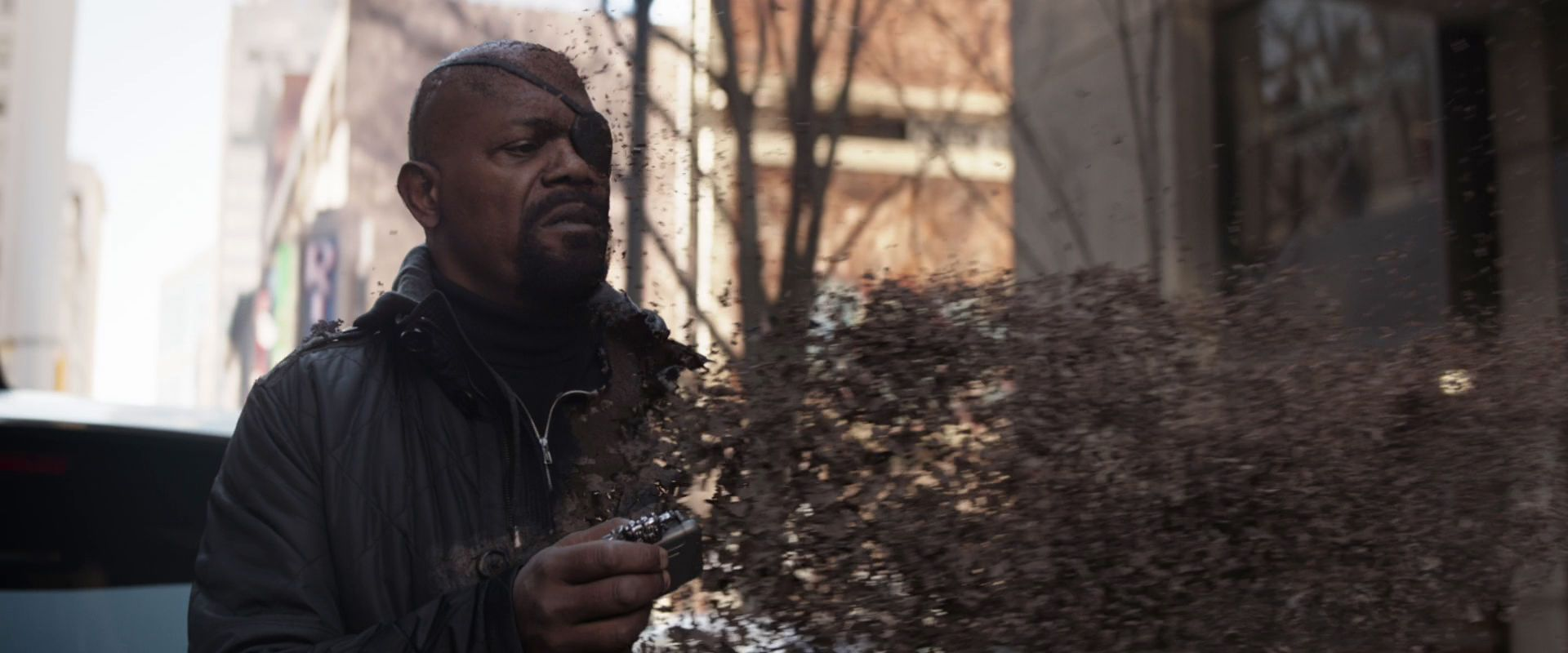 Avengers Infinity War - Who Nick Fury was supposed to meet in the ...