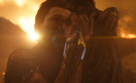 avengers infinity war, tom holland, peter parker, spider man