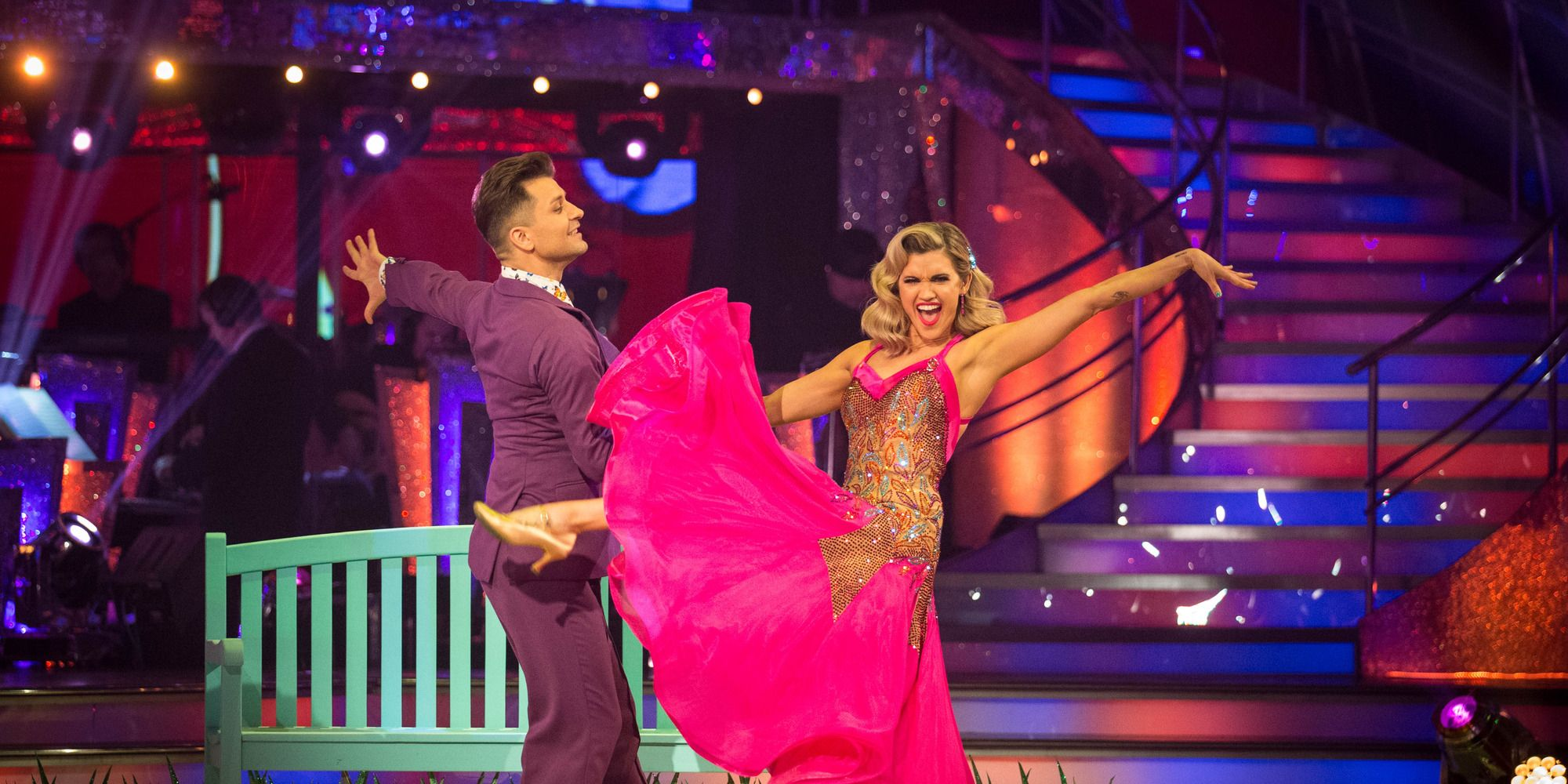 Strictly Come Dancing week 7: Ashley Roberts and Pasha Kovalev