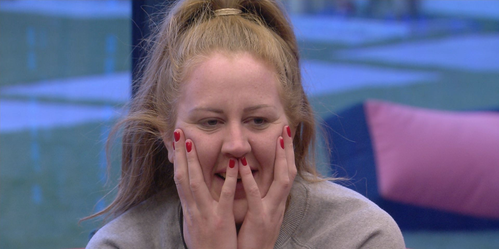 Big Brother Day 51: Zoe, shocked