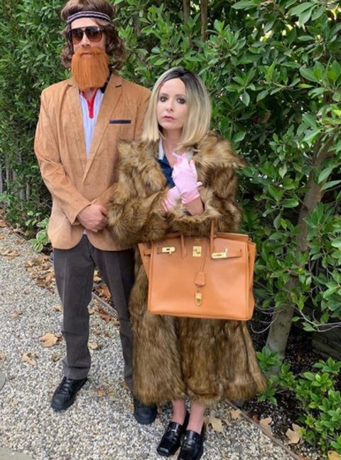 Sarah Michelle Gellar and Freddie Prinze Jr., Halloween 2018