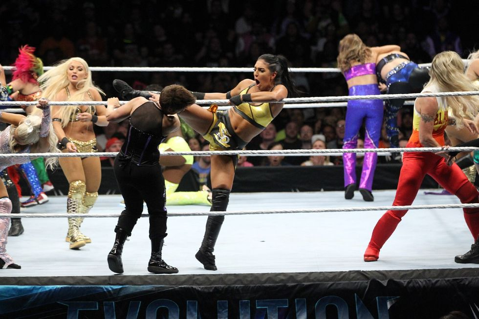 The 20 Women Battle Royal With The Winner Receiving A Future WWE Women's Championship Match