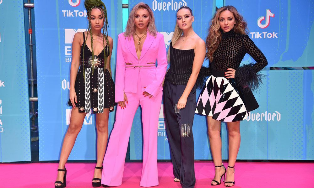 Little Mix's Leigh-Anne Pinnock struggles to hold back tears as she recalls racist trolling
