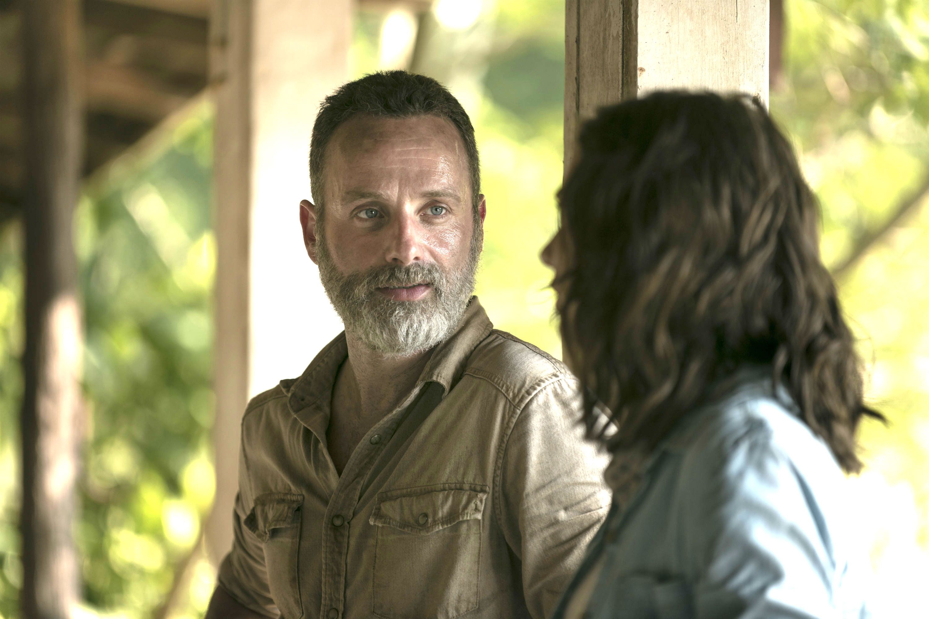 Andrew Lincoln as Rick Grimes - The Walking Dead, Season 9, Episode 3, 'Warning Signs'