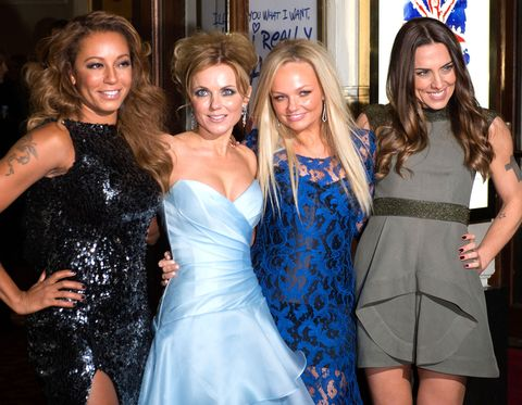"Emma Bunton admits she had to give the Spice Girls ""a little push"" to get back together"