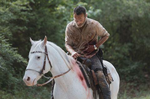 Rick Grimes in The Walking Dead 9x05