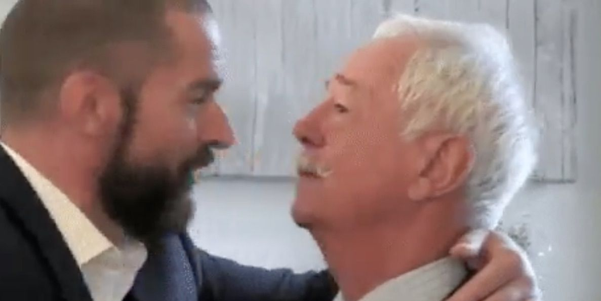 Fred Sirieix's dad visits First Dates