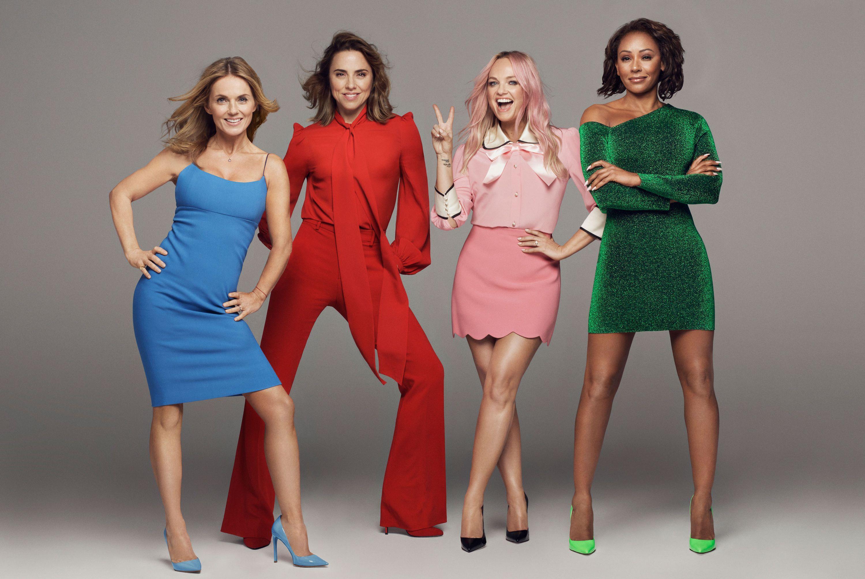 Spice Girls, Geri Horner, Melanie Chisholm, Emma Bunton, Melanie Brown