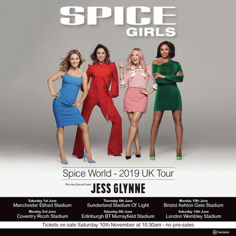 93f7aaab4cd Spice Girls tickets sales break UK records as
