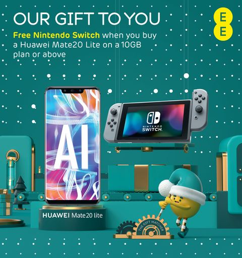 Ee Will Give You A Nintendo Switch For Free When You Buy A New Phone