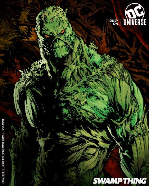 First look at DC's Swamp Thing series arrives, and it'll probably freak you out