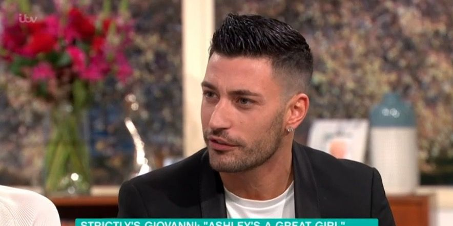 Strictly Come Dancing's Giovanni Pernice on This Morning
