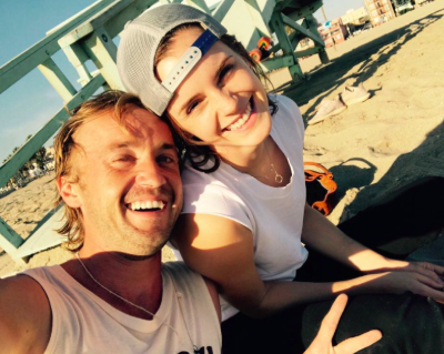 Harry Potter's Emma Watson and Tom Felton reunite for guitar lessons