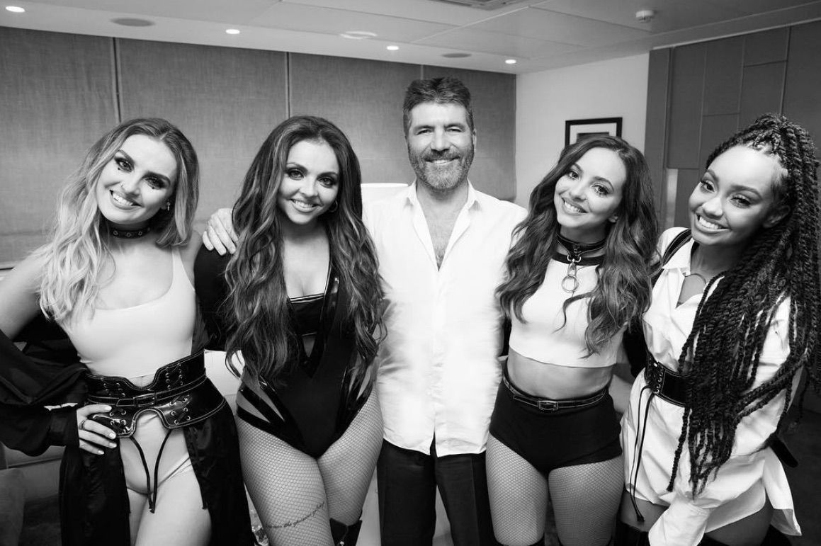 X Factor's Simon Cowell responds to rumours of feud with Little Mix ahead of new show format