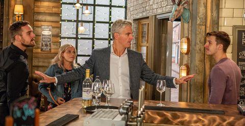 Ali Neeson and Ryan Connor clash over Bethany Platt in Coronation Street