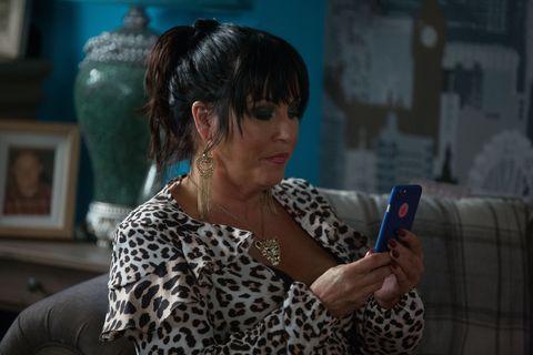 Kat Moon video calls Alfie Moon in EastEnders