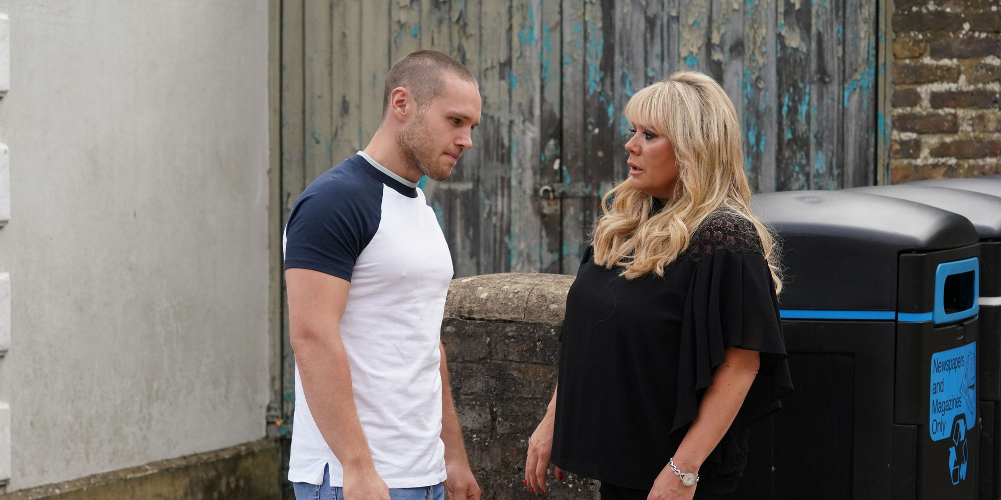 Sharon Mitchell asks Keanu Taylor out for lunch in EastEnders
