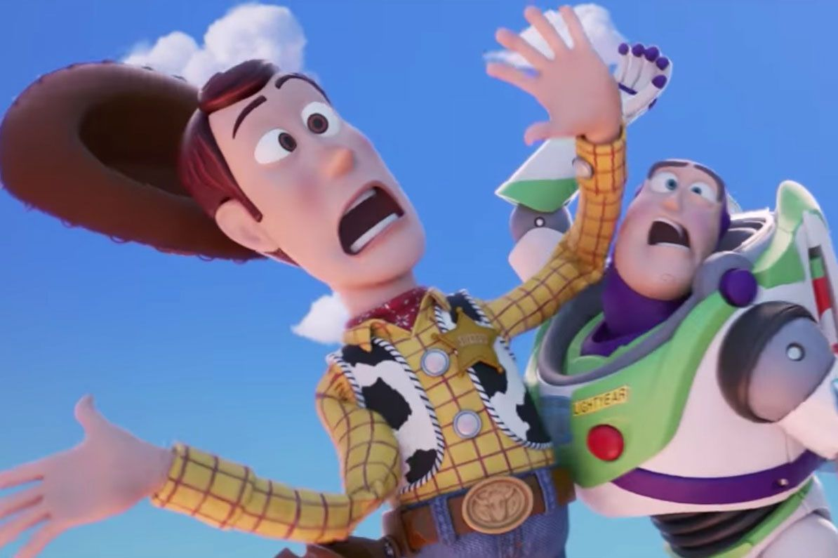 Toy Story 4, Woody, Buzz, Jessie