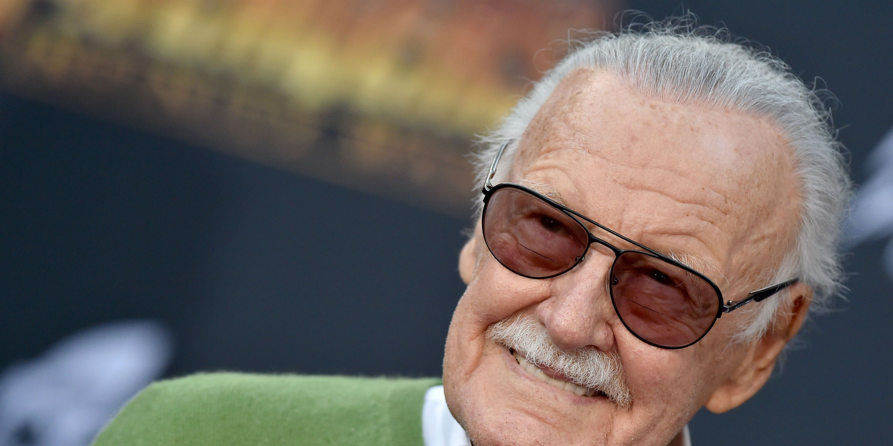 Stan Lee attends the premiere of Avengers: Infinity War