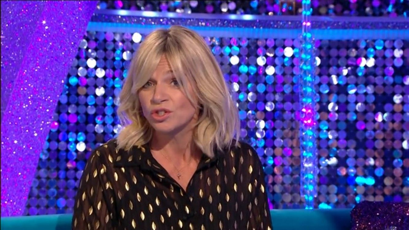Strictly: It Takes Two host Zoe Ball explains why she isn't hosting the show all week