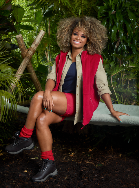 i'm a celebrity 2018 fleur east embargoed 1030pm on 111218