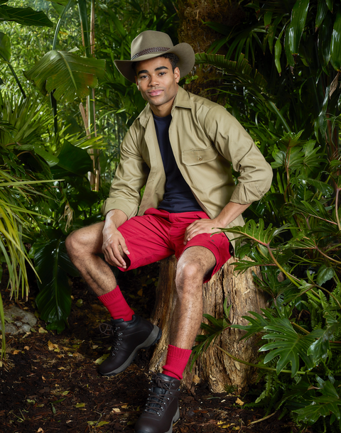 I'm a Celebrity 2018 cast: Malique Thompson-Dwyer (embargoed 10.30pm on 11/12/18)