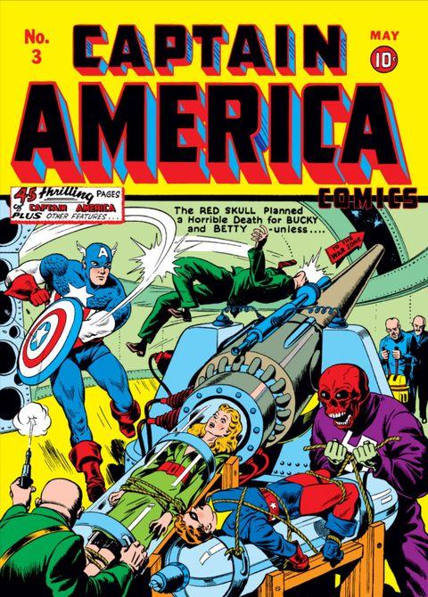 Captain America, 1941, volume 3, Stan Lee