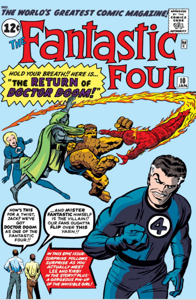 Fantastic Four, Stan Lee comic