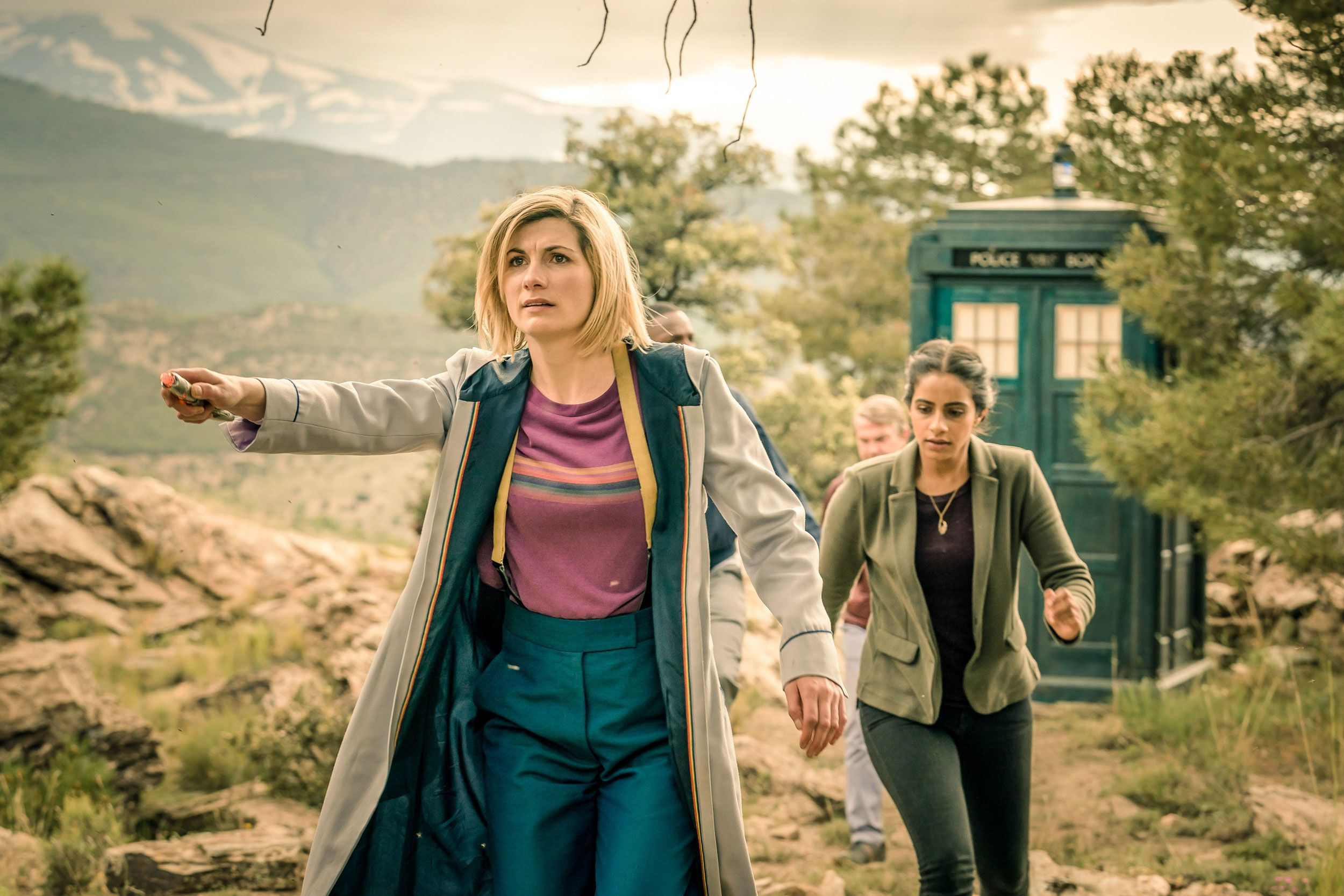 Jodie Whittaker, Mandip Gill, Doctor Who series 11