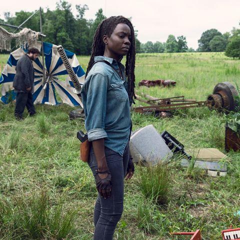 Danai Gurira, Michonne, The Walking Dead, Season 9, Episode 7