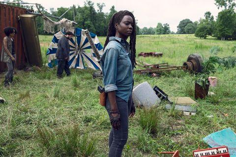 Danai Gurira, Michonne, The Walking Dead, Stagione 9, Episodio 7