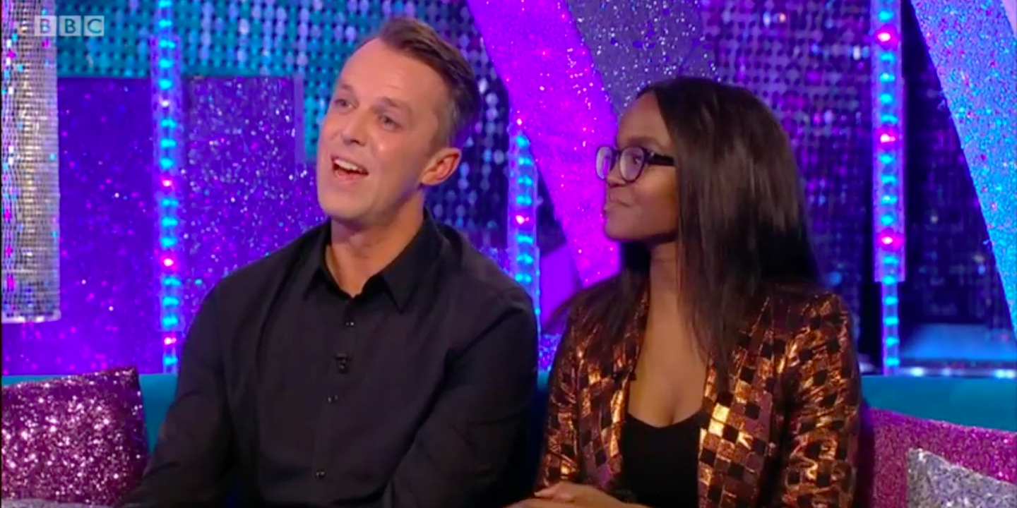 Graeme Swann and Oti Mabuse on Strictly: It Takes Two