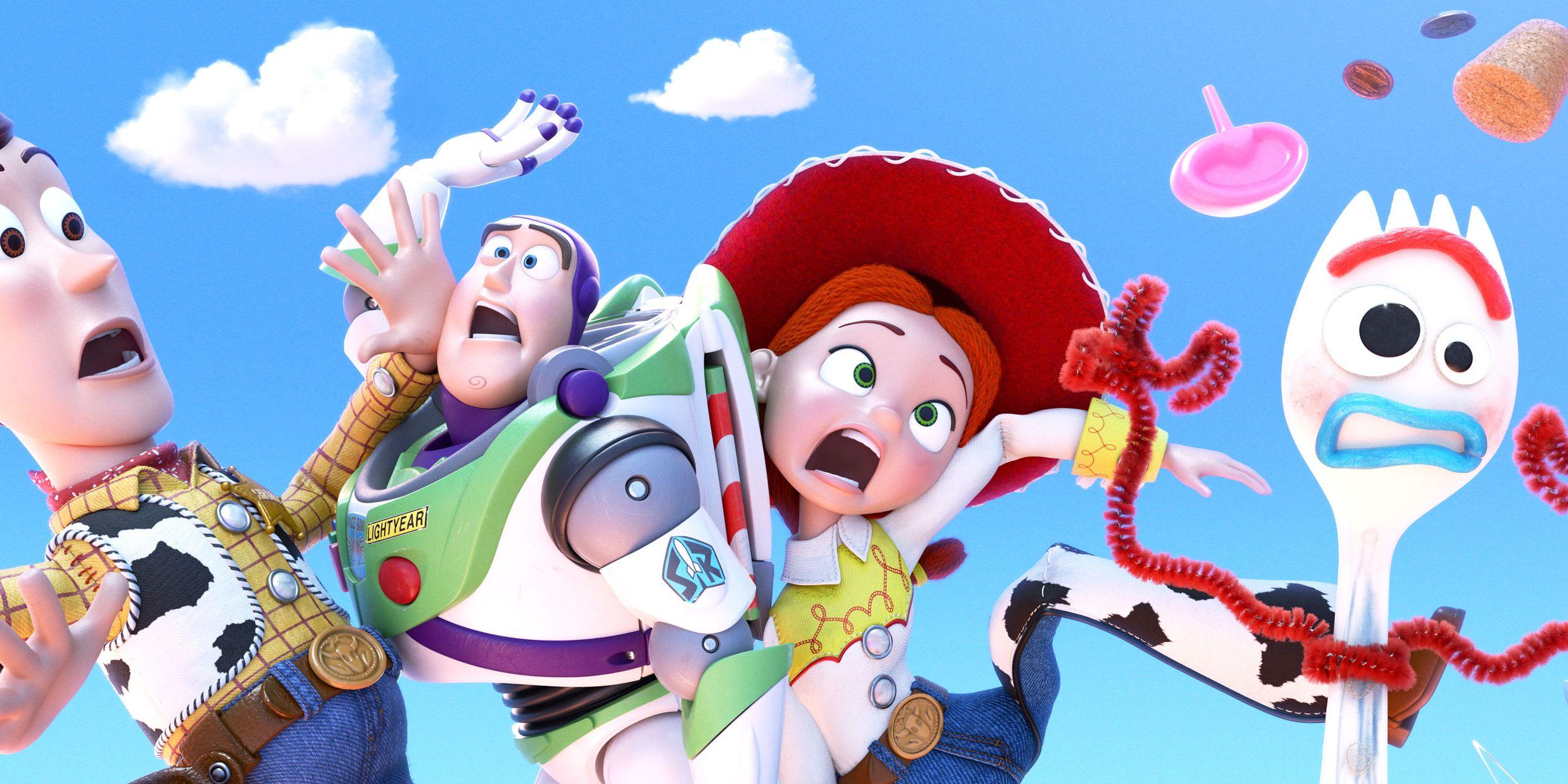 Toy Story 4, Woody, Buzz Lightyear, Jessie, Forky