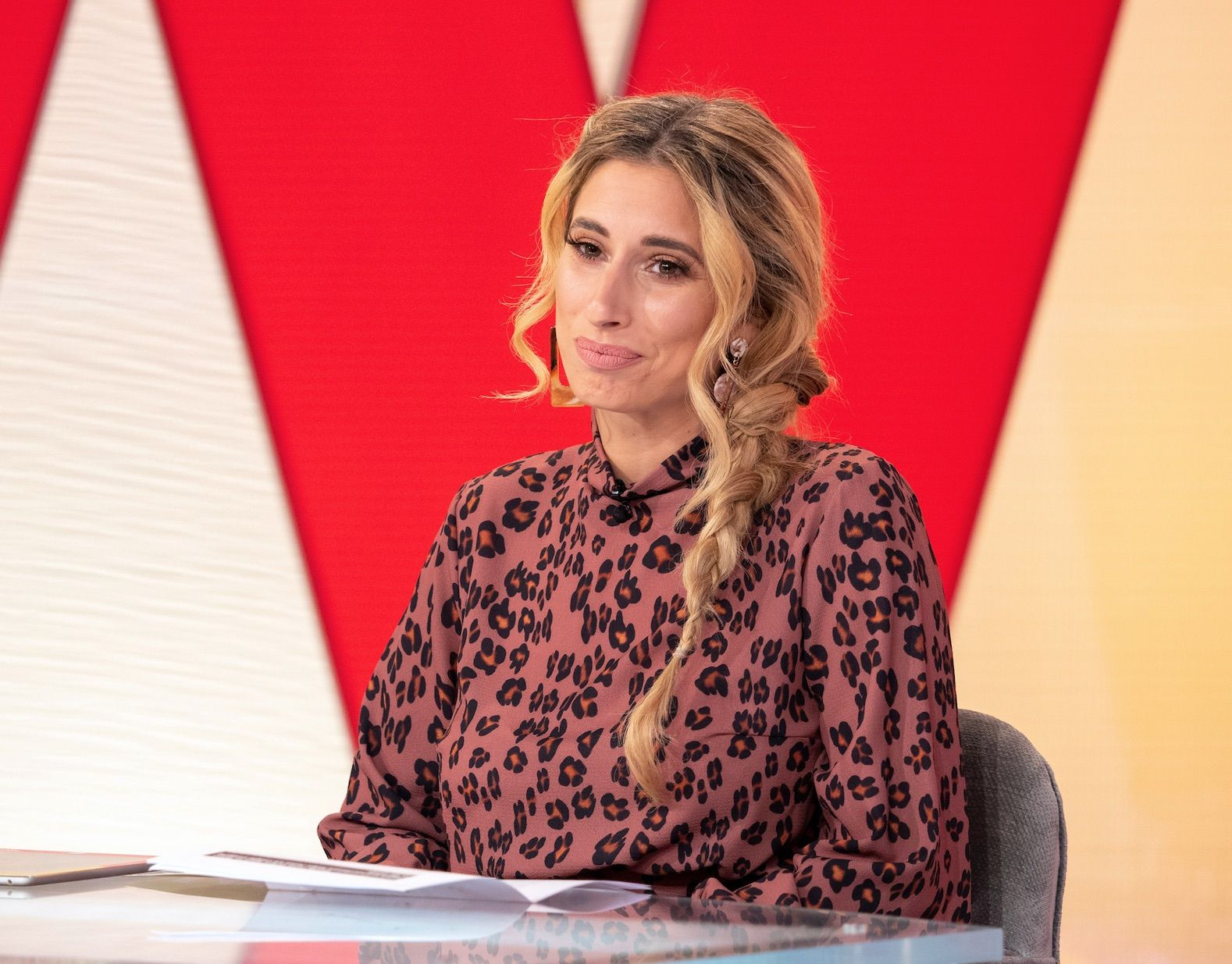 Stacey Solomon posts sweet selfie with her three sons