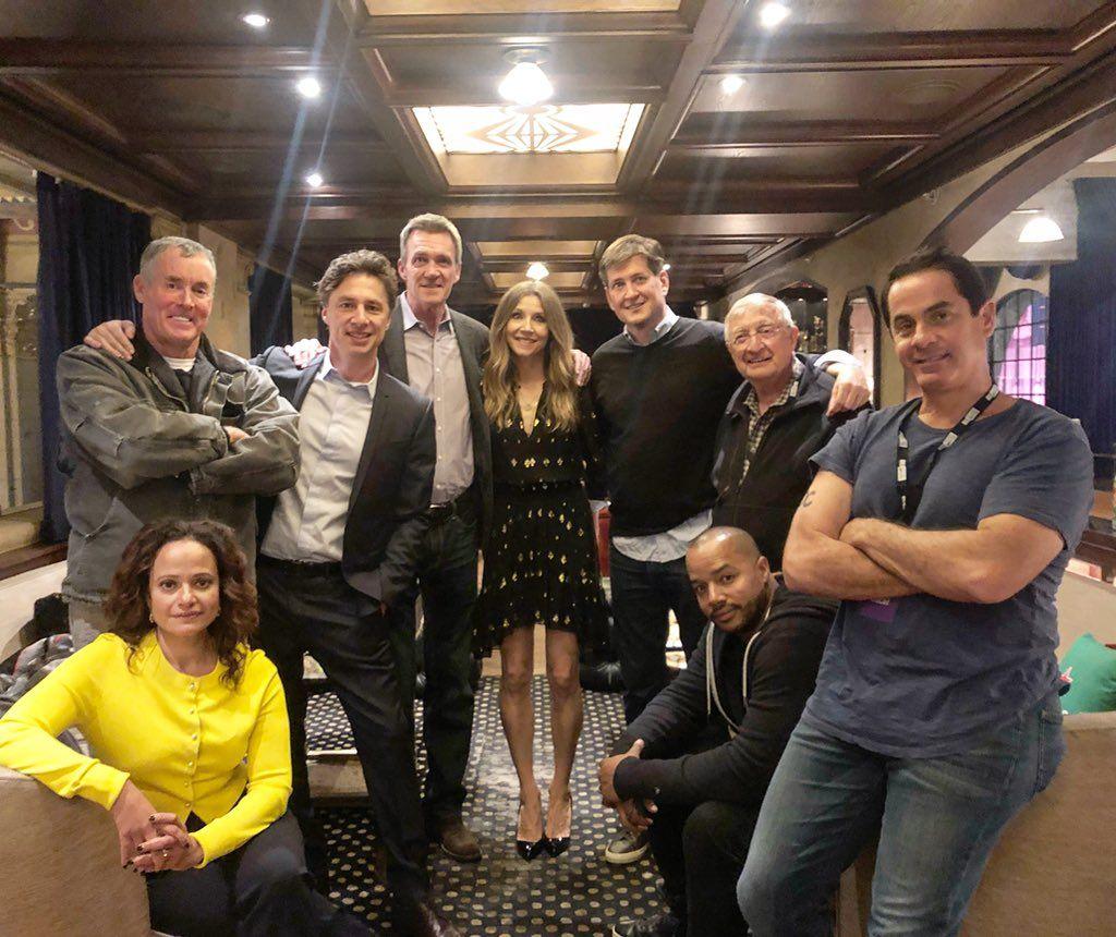 Scrubs Cast Reunite 8 Years After Final Episode As Creator Bill
