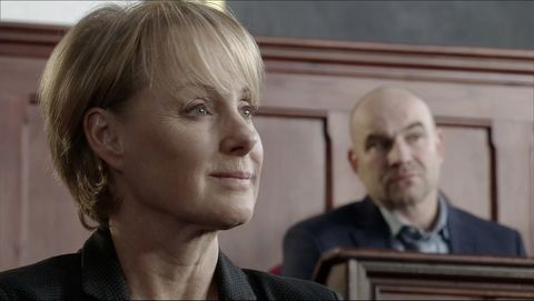 sally metcalfe's trial continues in coronation street