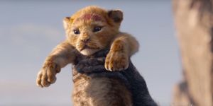 Disney's The Lion King, live-action, baby Simba