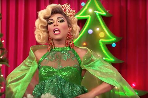RuPaul's Drag Race Holi-slay Spectacular: Shangela