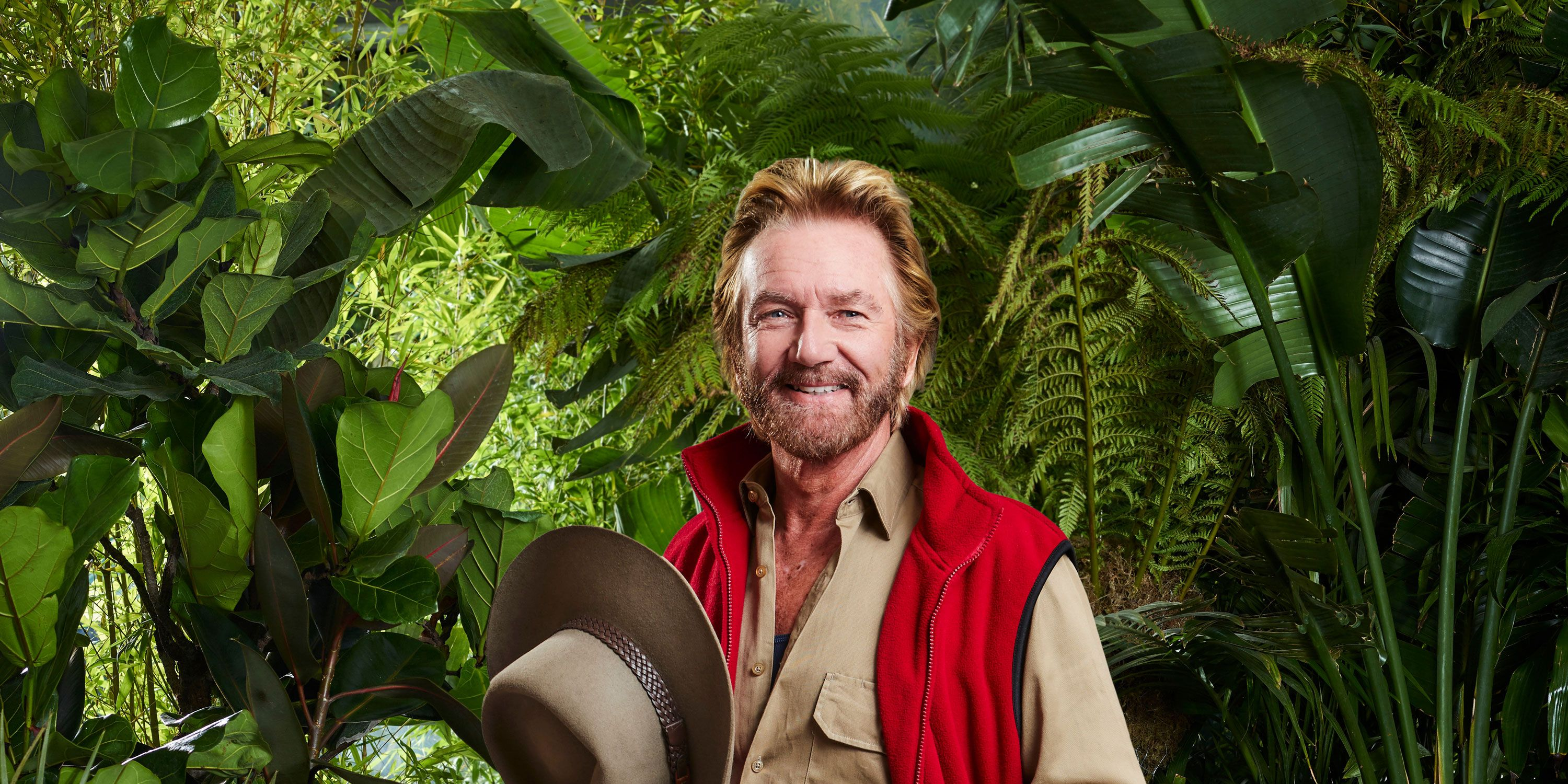 Noel Edmonds joins I'm A Celebrity camp mates 2018