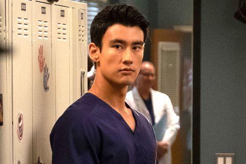 Alex Landi as Dr. Nico Kim, Grey's Anatomy, Season 15