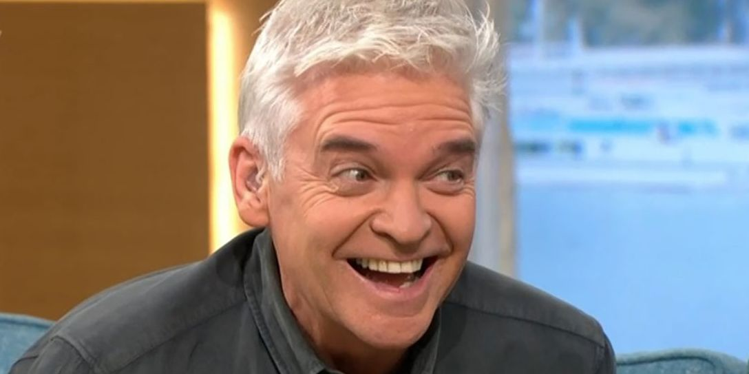 This Morning's Phillip Schofield drinks from giant bottle of gin during lockdown