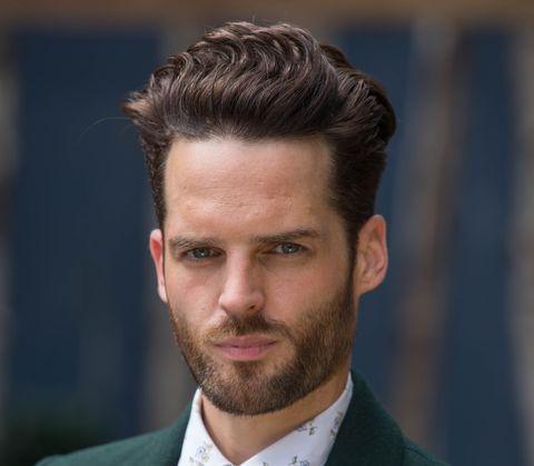 Jude Monk McGowan as Liam Donovan in Hollyoaks