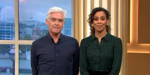 Phillip Schofield and Rochelle Humes on This Morning