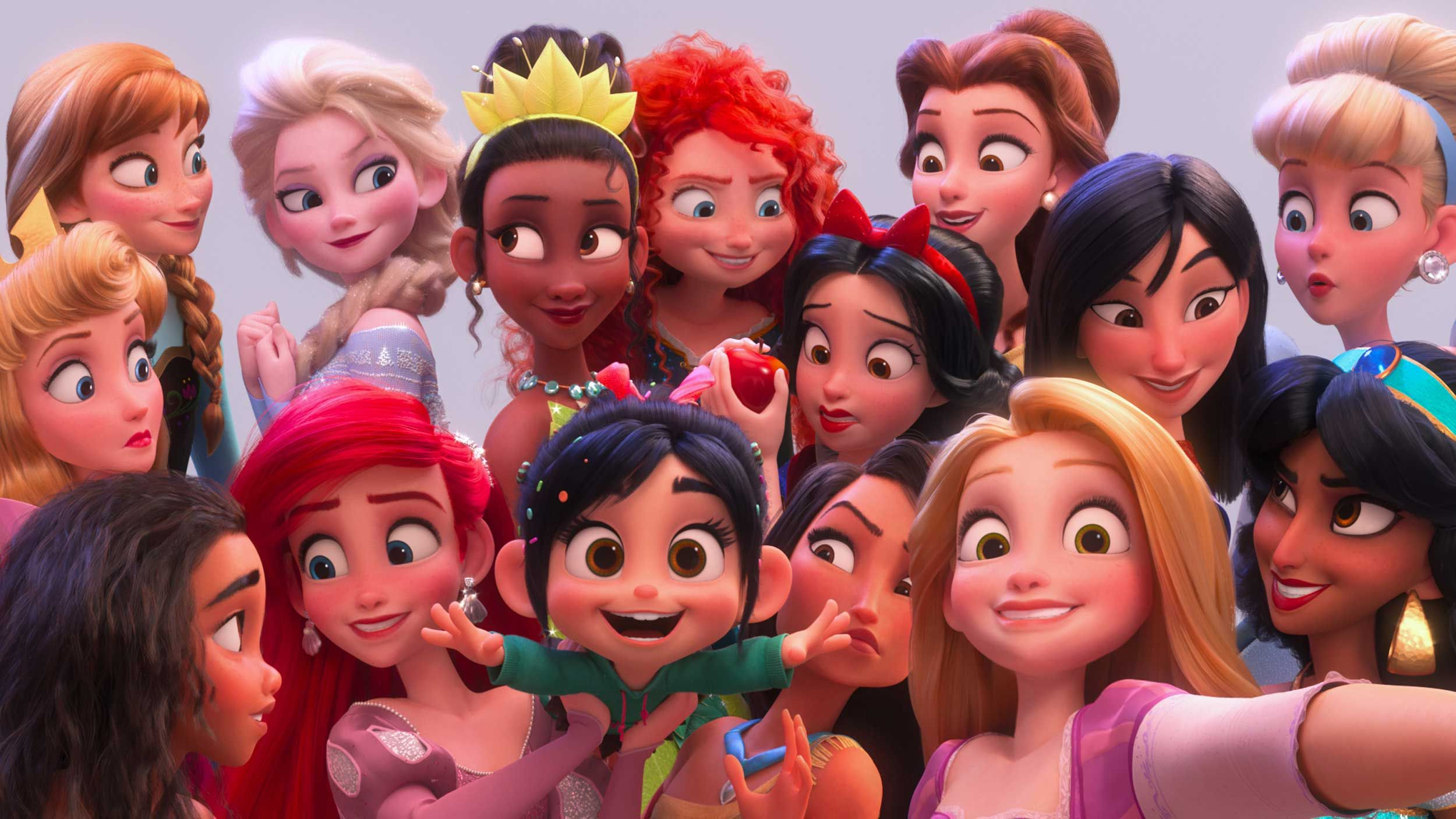 """Wreck-It Ralph 2 stars hail Disney as """"brave"""" for challenging """"problematic""""  princess stereotypes"""