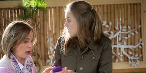 Alice Wells is caught out by Willow Somers in Neighbours