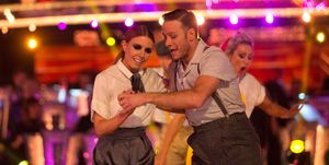 Strictly Come Dancing Lindy Hop-a-thon: Stacey Dooley and Kevin Clifton