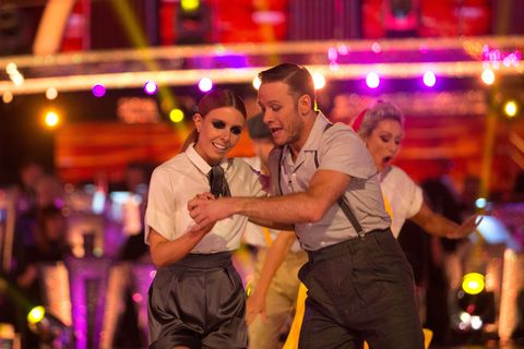 strictly come dancing lindy hop a thon stacey dooley and kevin clifton