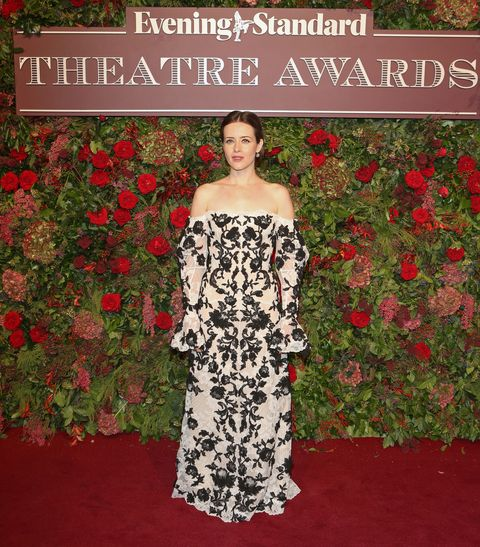 Clothing, Dress, Carpet, Red carpet, Red, Flooring, Gown, Pattern, Strapless dress, Floral design,