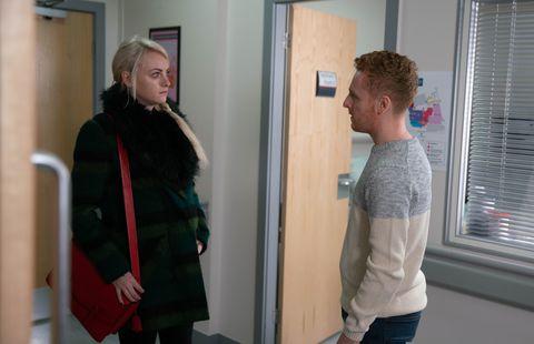 Sinead Tinker hears devastating news from Steff's husband in Coronation Street