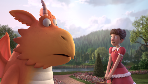 First look at BBC's Christmas animation Zog promises festive fun with dragons and Kit Harington